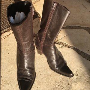 Lavorazione Artigiana brown mid calf boot 39